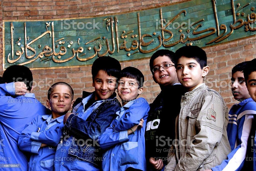 Persian Boys stock photo