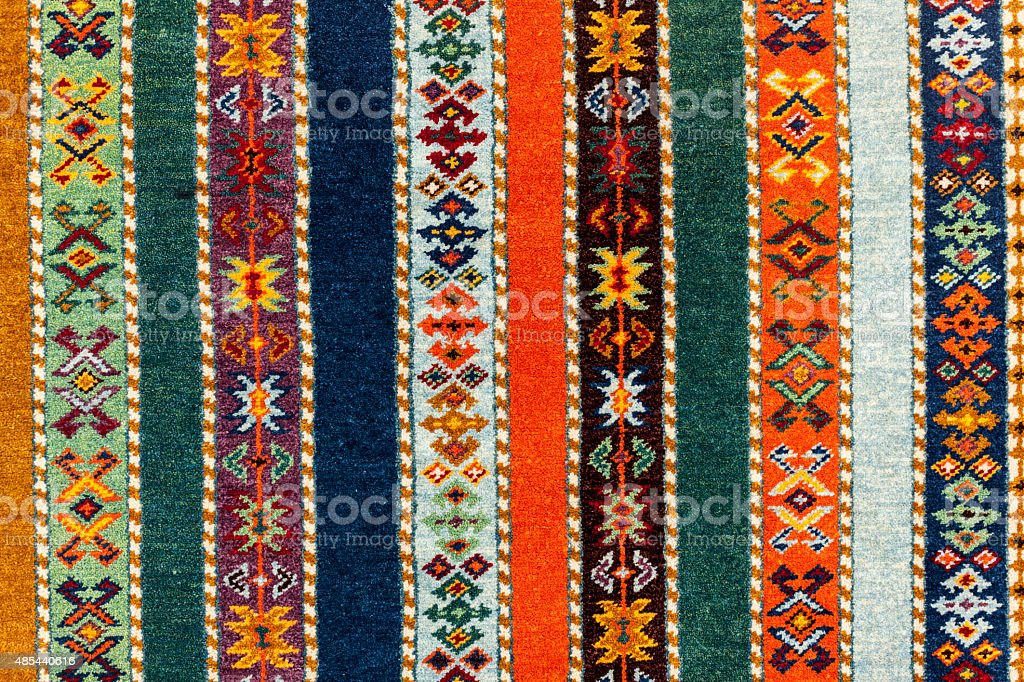 Persian Carpet Background stock photo