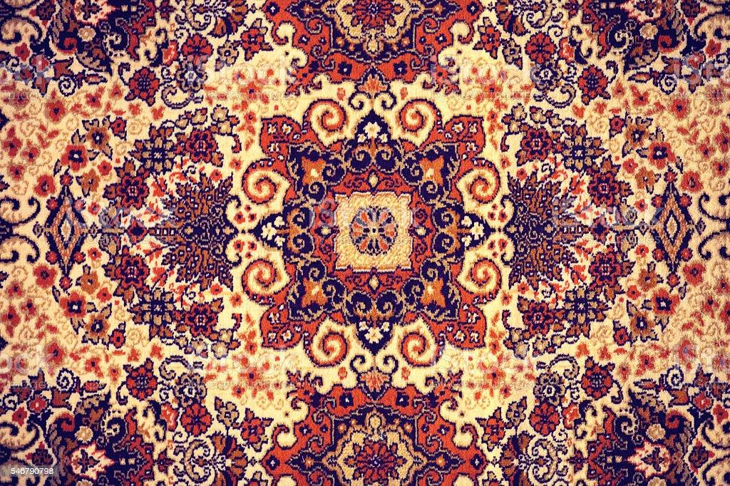 Persian Carpet. stock photo