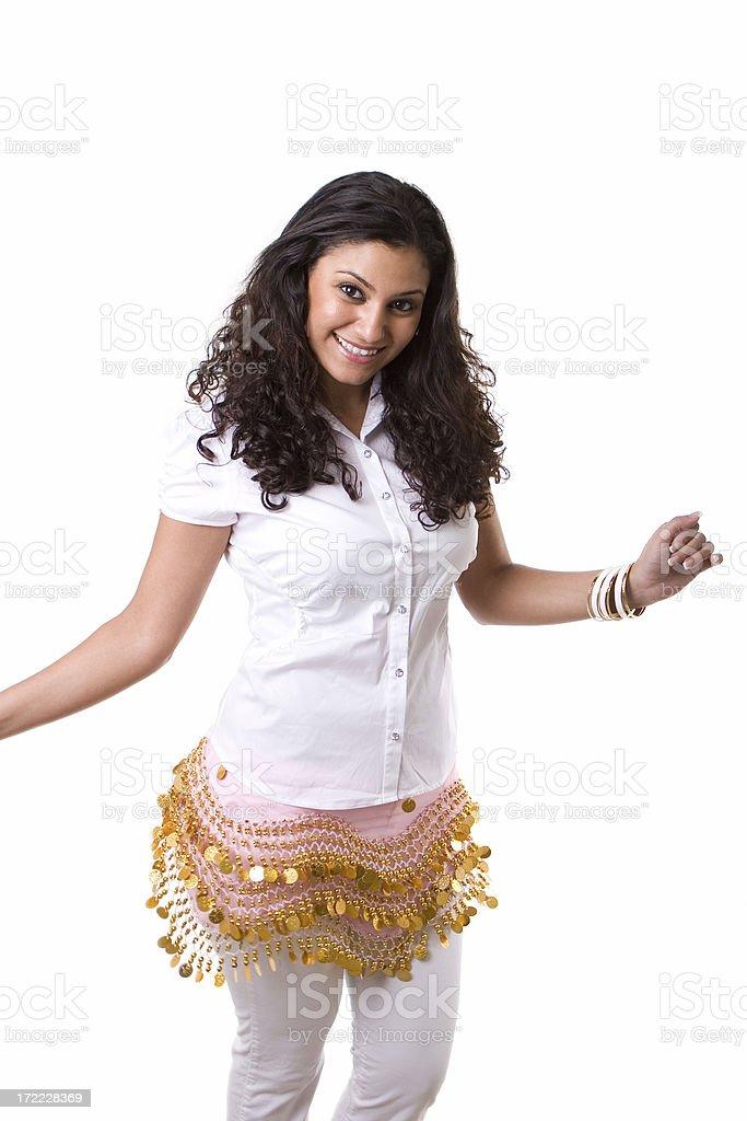 Persian Dancing stock photo