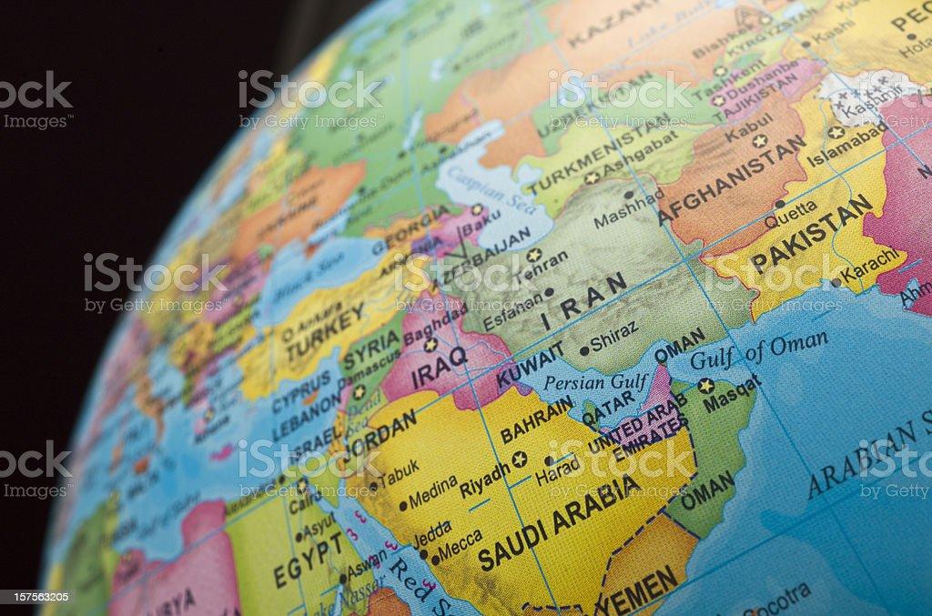 persian gulf countries stock photo