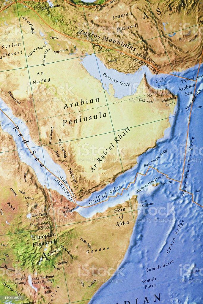 Persian gulf royalty-free stock photo