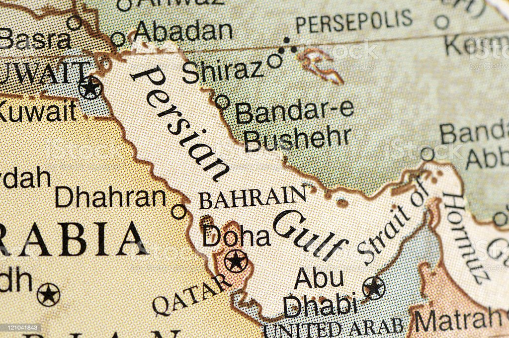 Persian Gulf stock photo