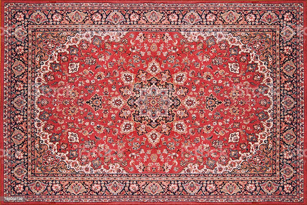 Persian Rug Carpet stock photo