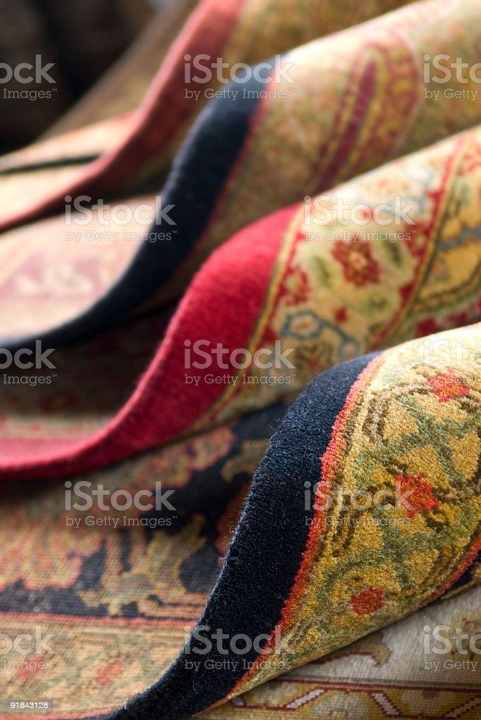 Persian Rugs royalty-free stock photo