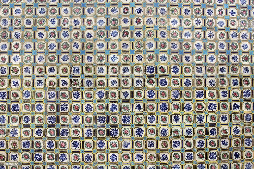 Persian Tile Decoration royalty-free stock photo