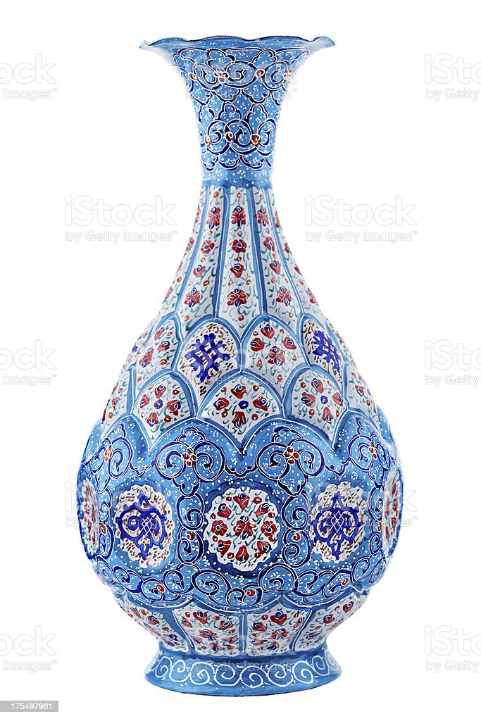 Persian vase stock photo