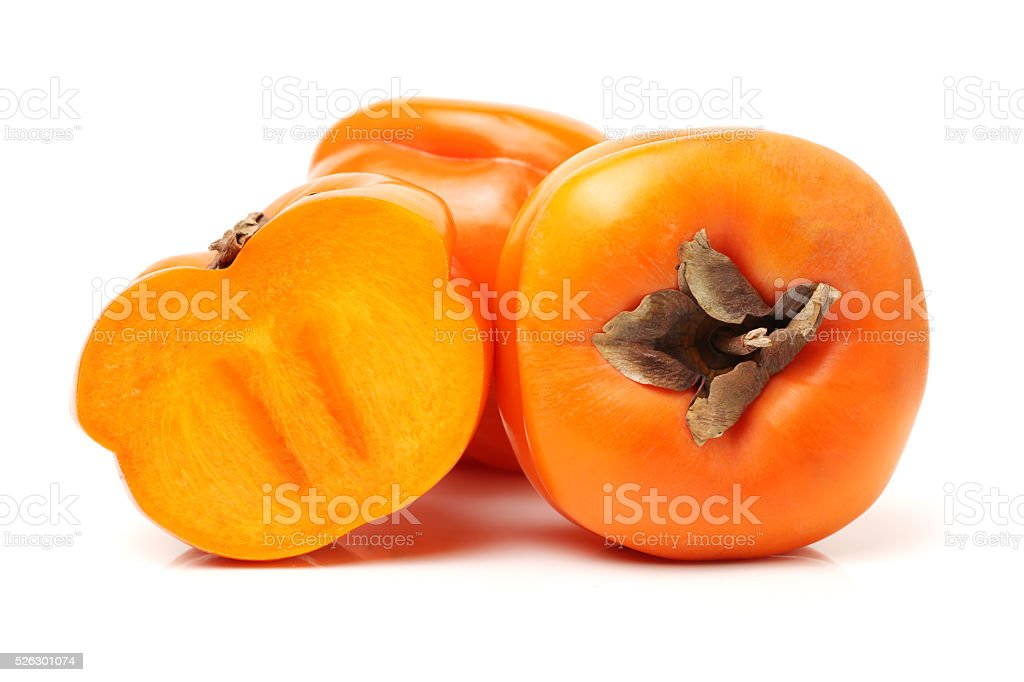 Persimmon, sharon, khaki, stock photo