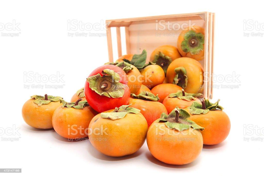 Persimmons stock photo