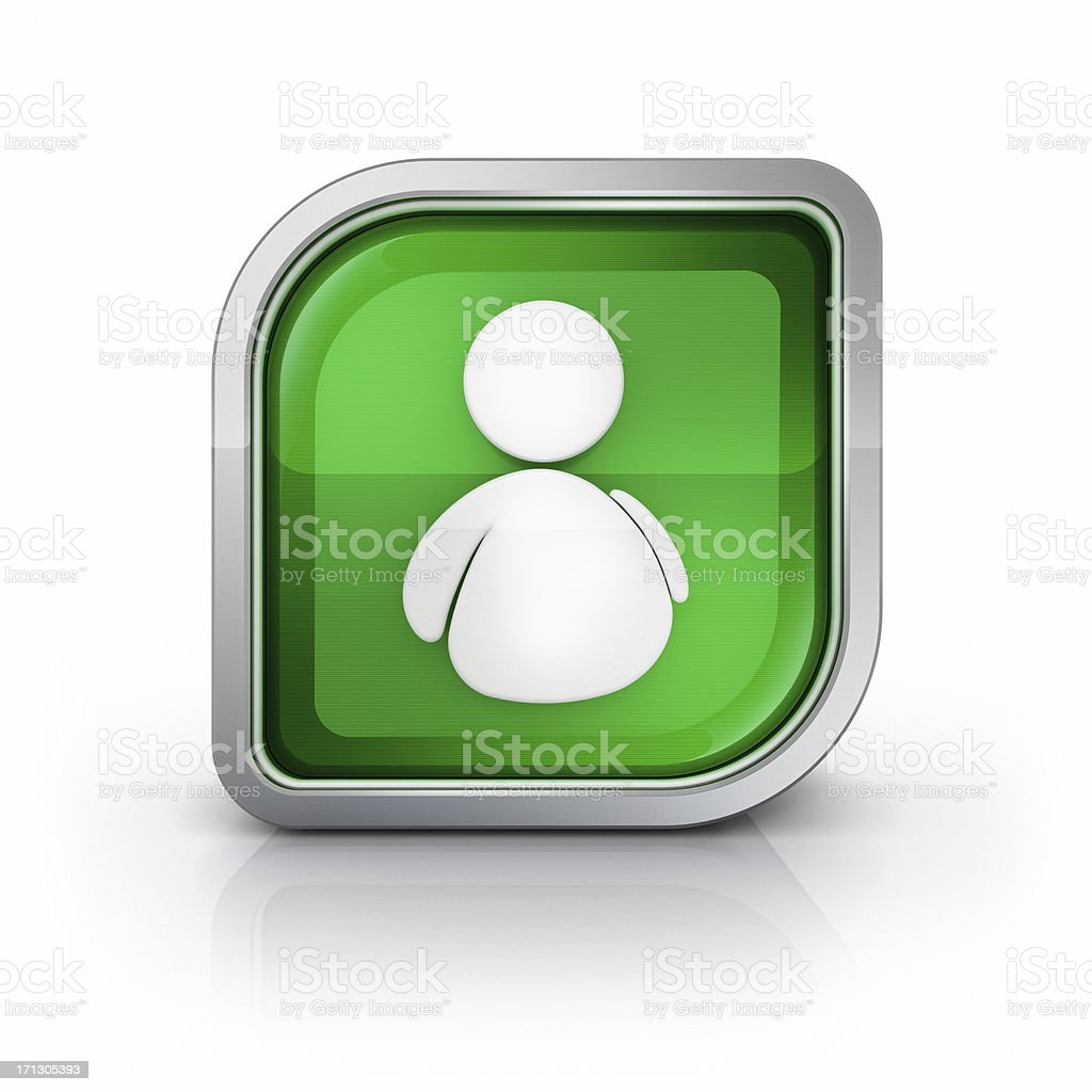 person or online buddy icon royalty-free stock photo