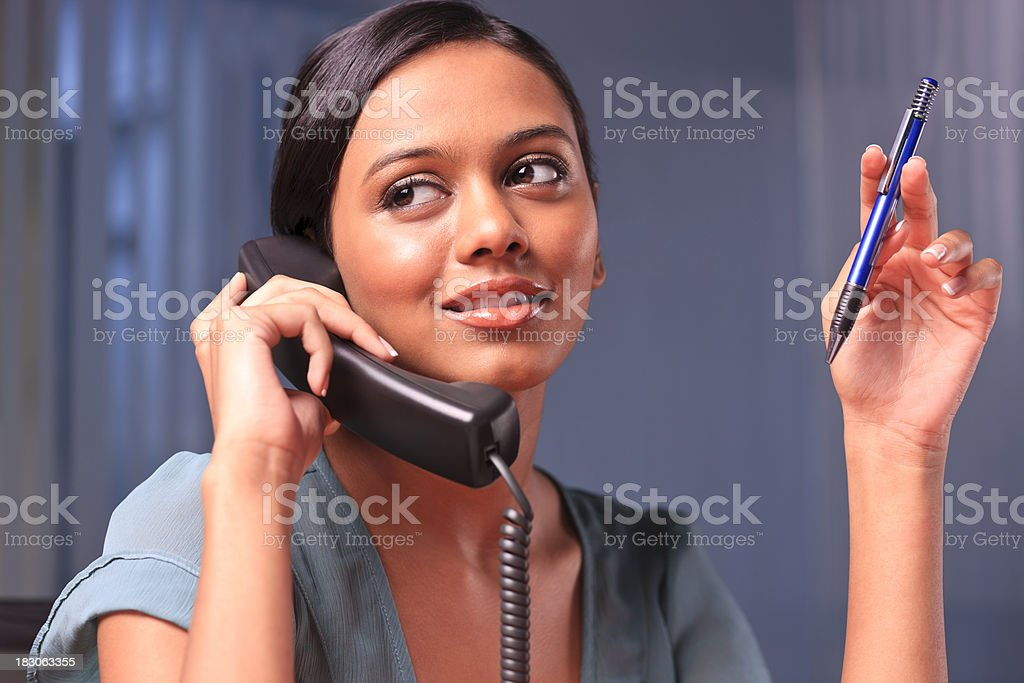 Personal assistant royalty-free stock photo