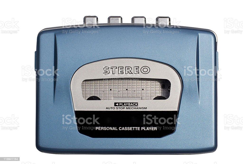 Personal Audio Player stock photo