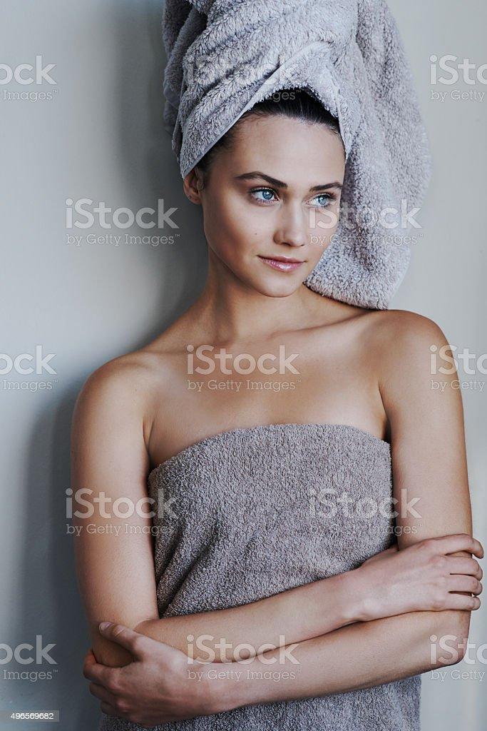 Personal beauty regime stock photo