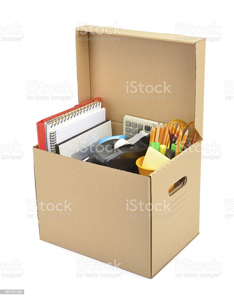 Personal Belongings Collected stock photo