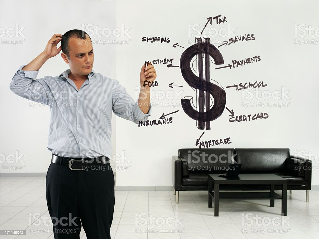 personal budget royalty-free stock photo