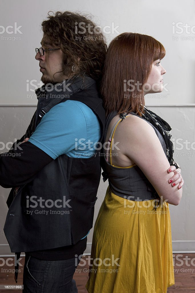 Personal Conflict stock photo