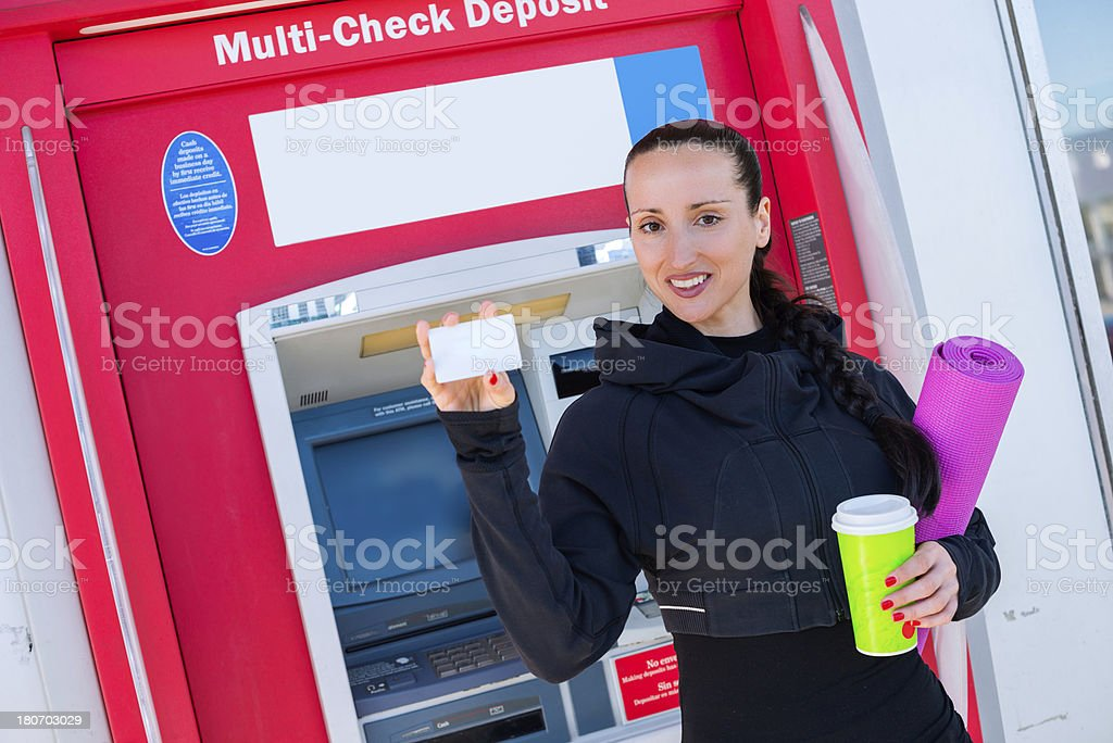 Personal credit card royalty-free stock photo