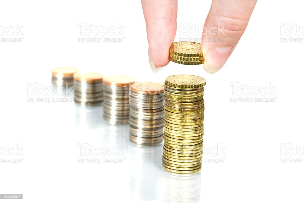 Personal Finance. royalty-free stock photo