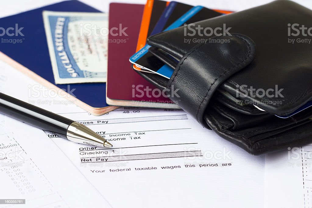 Personal finances royalty-free stock photo
