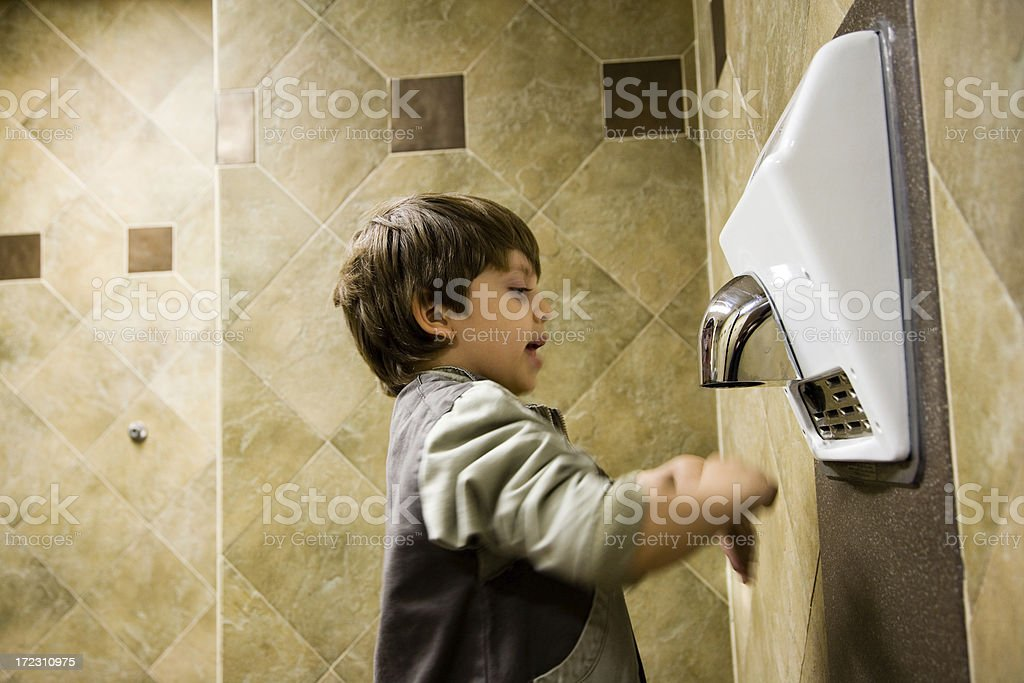 Personal Hygiene Dry royalty-free stock photo