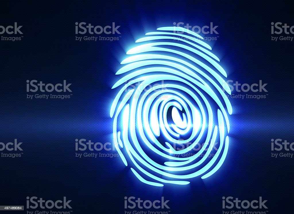 Personal identification stock photo