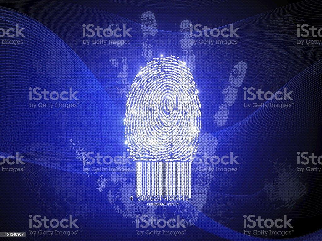Personal identity stock photo