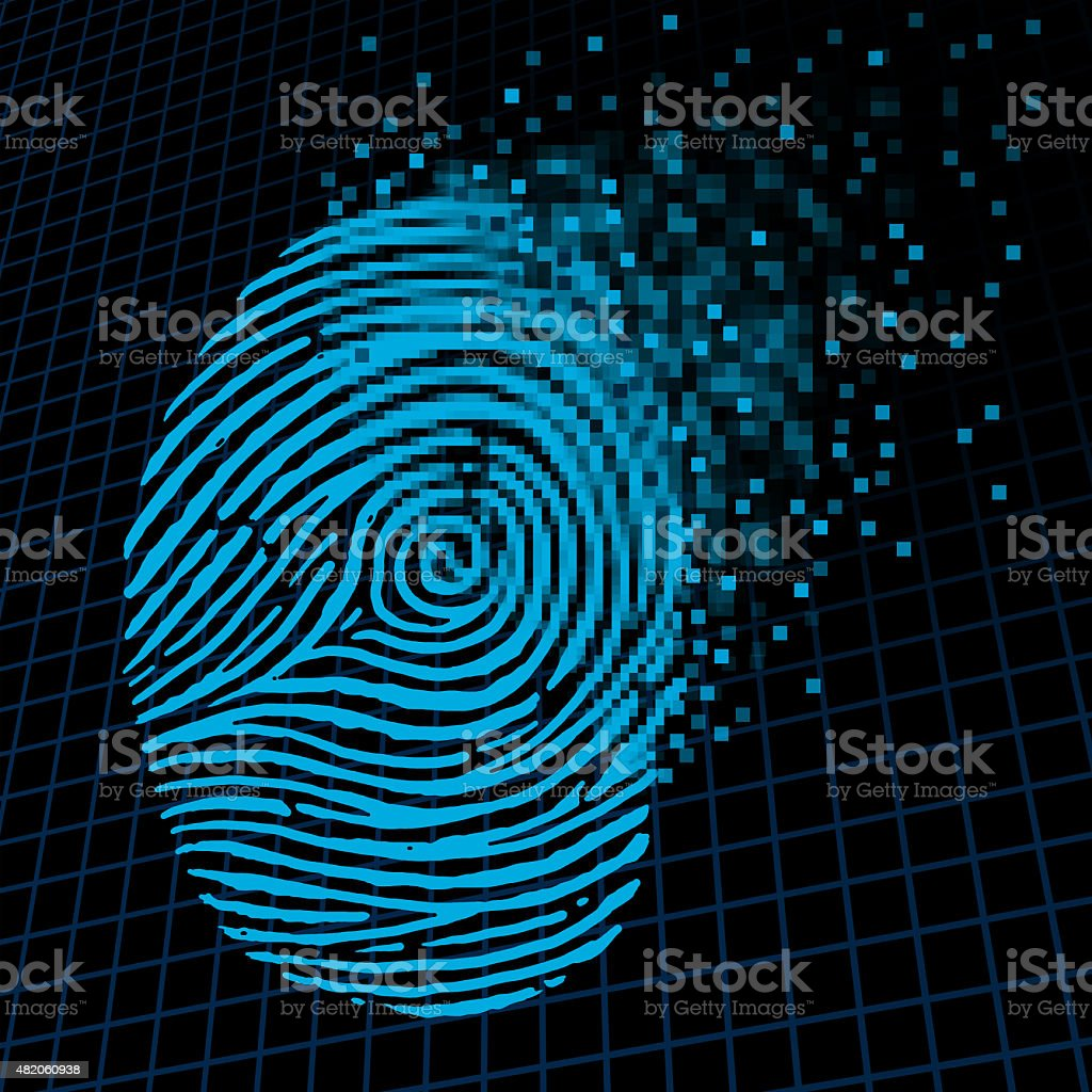 Personal Information Encryption stock photo