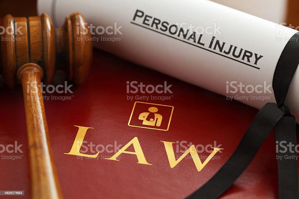 Personal Injury stock photo