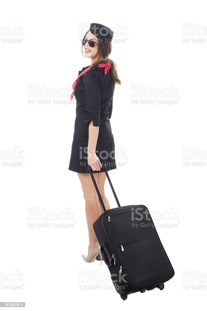 Personal luggage royalty-free stock photo