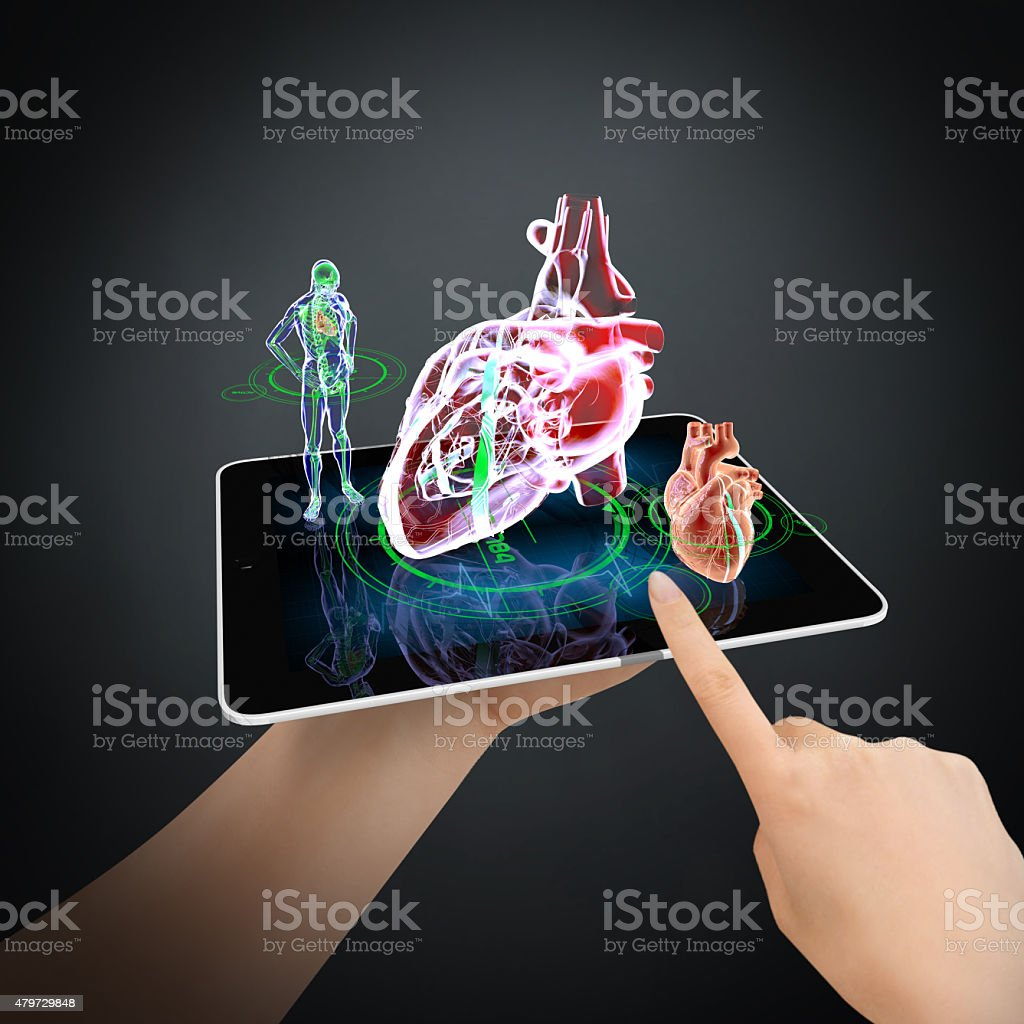 Personal Medical Control Technology stock photo