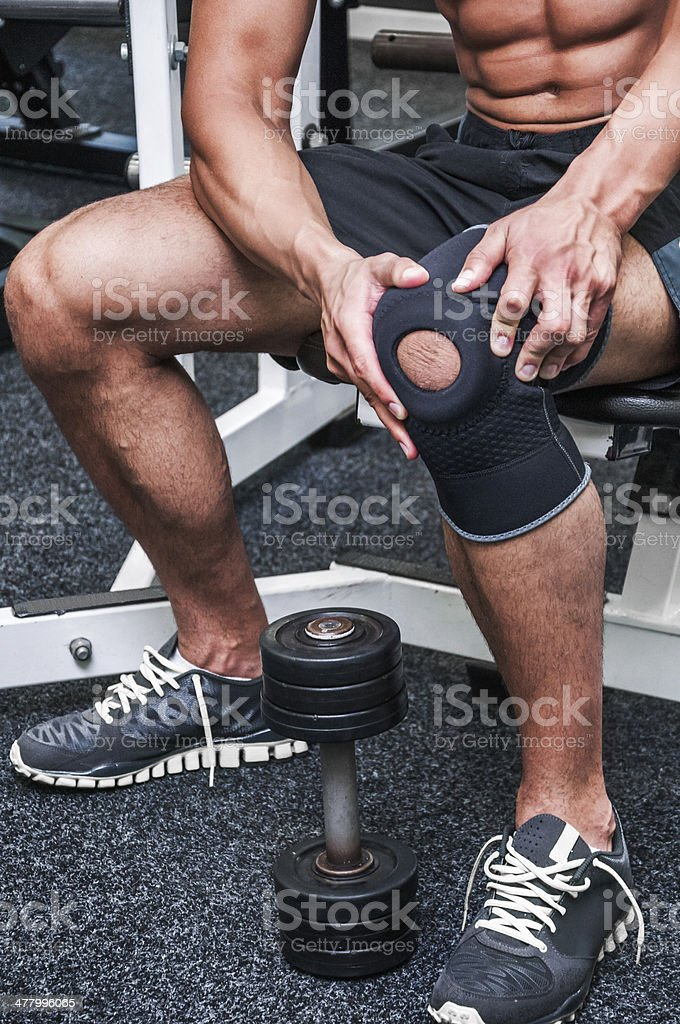 Personal pain stock photo