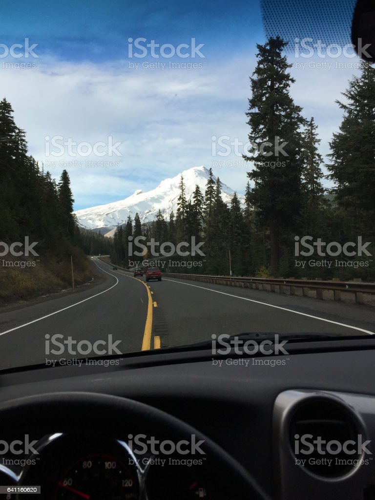 Personal Perspective Road Trip Adventure stock photo