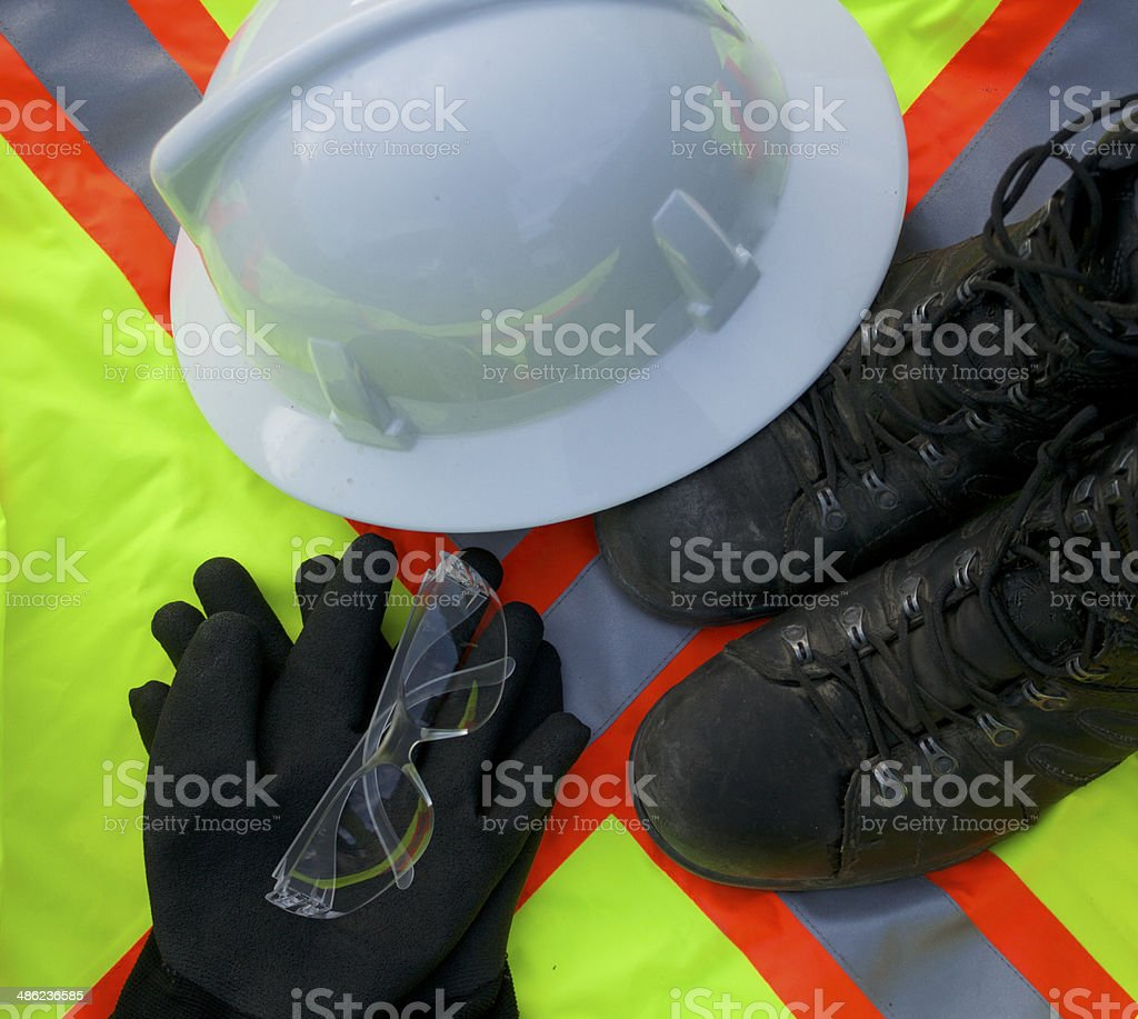 Personal Protection Safety Equipment stock photo
