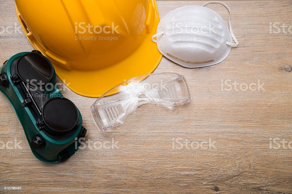 personal safety equipment stock photo