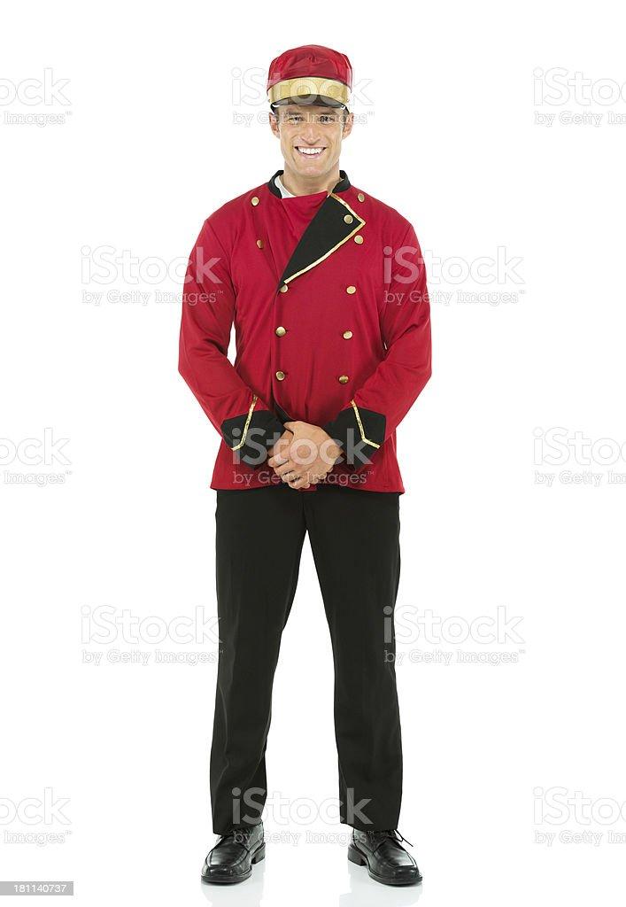 Personal valet stock photo