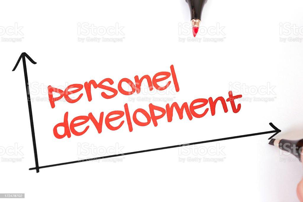 Personel Development royalty-free stock photo