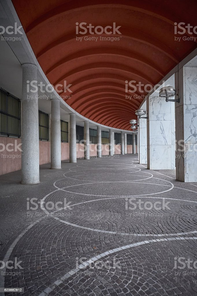 Perspective Porch from EUR stock photo