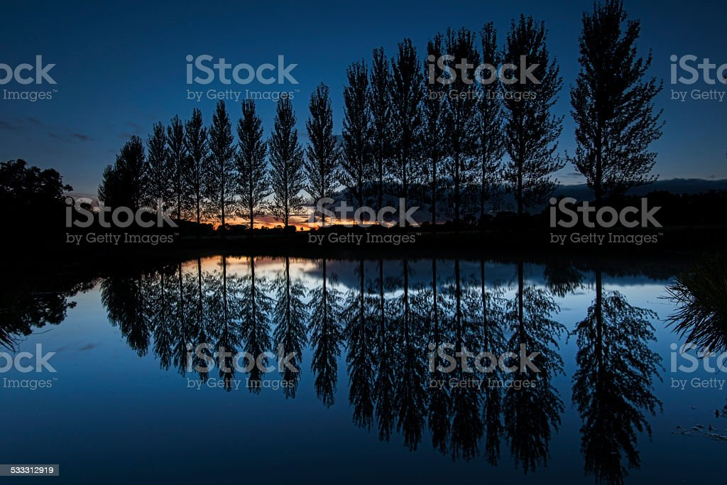 Perspective reflection royalty-free stock photo