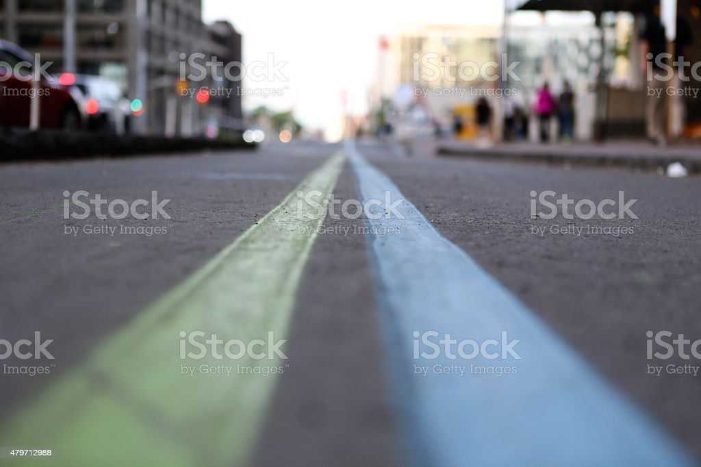 perspective road stock photo