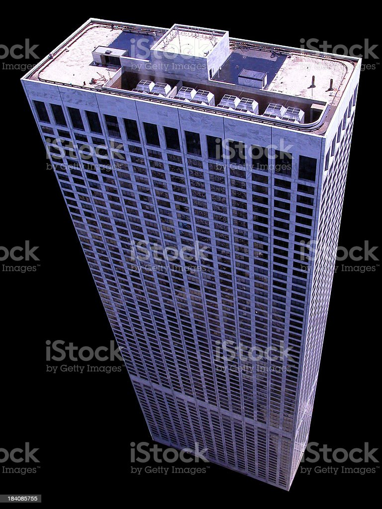 Perspective Tower royalty-free stock photo