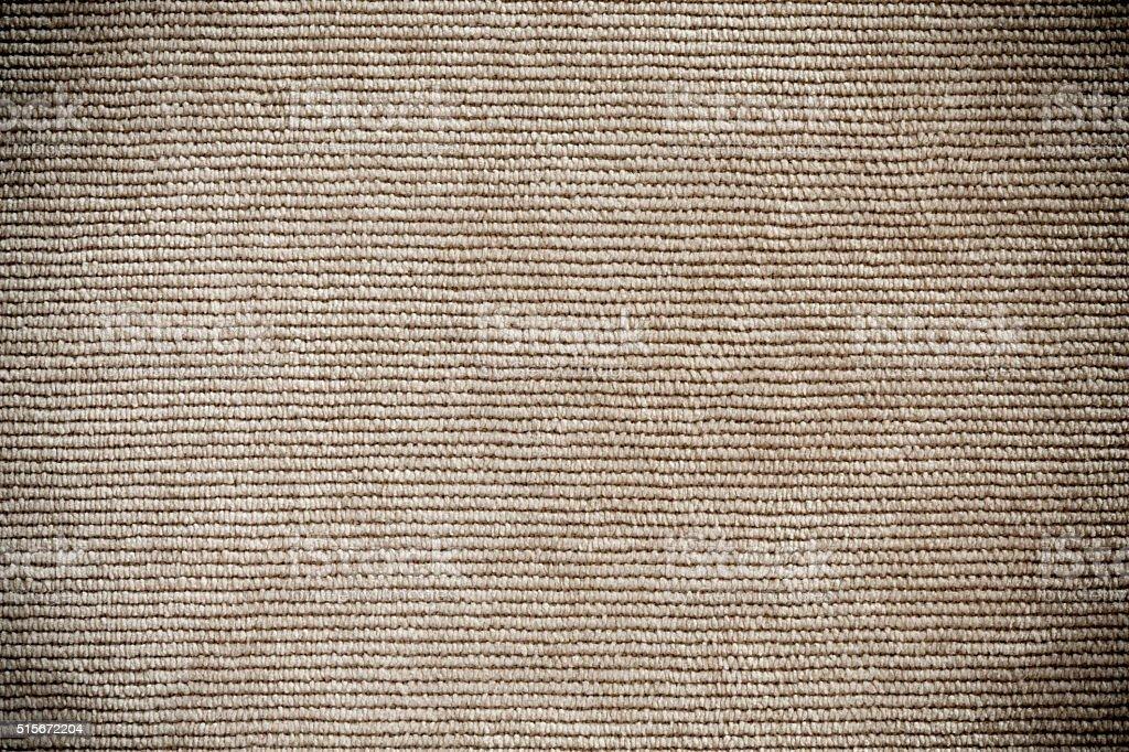 Perspective View Beige Denim Texture horizontal Direction of Threads stock photo