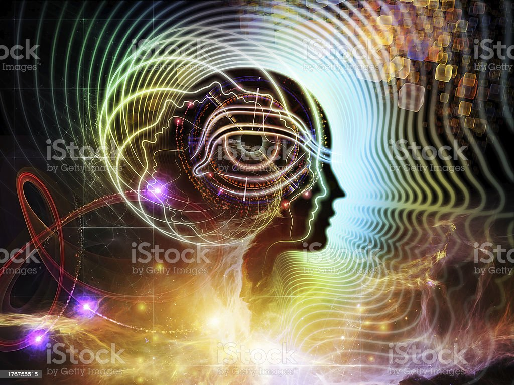 Perspectives of Human Mind royalty-free stock photo