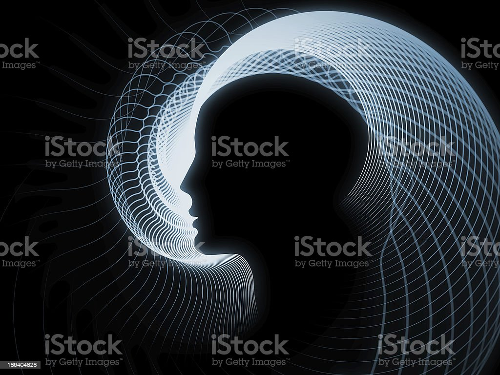 Perspectives of Soul Geometry royalty-free stock photo