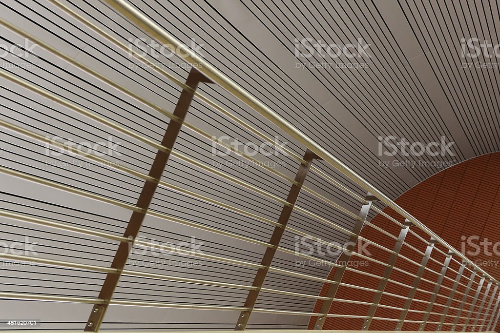 Perspectivic office interior stock photo