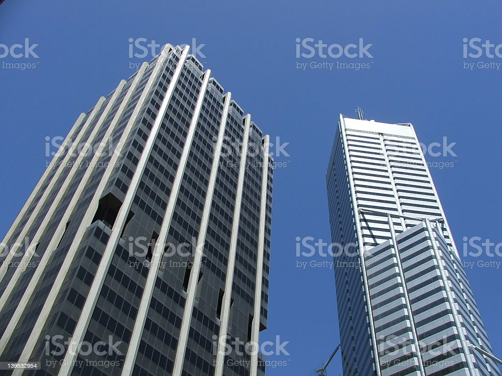 Perth - buildings royalty-free stock photo