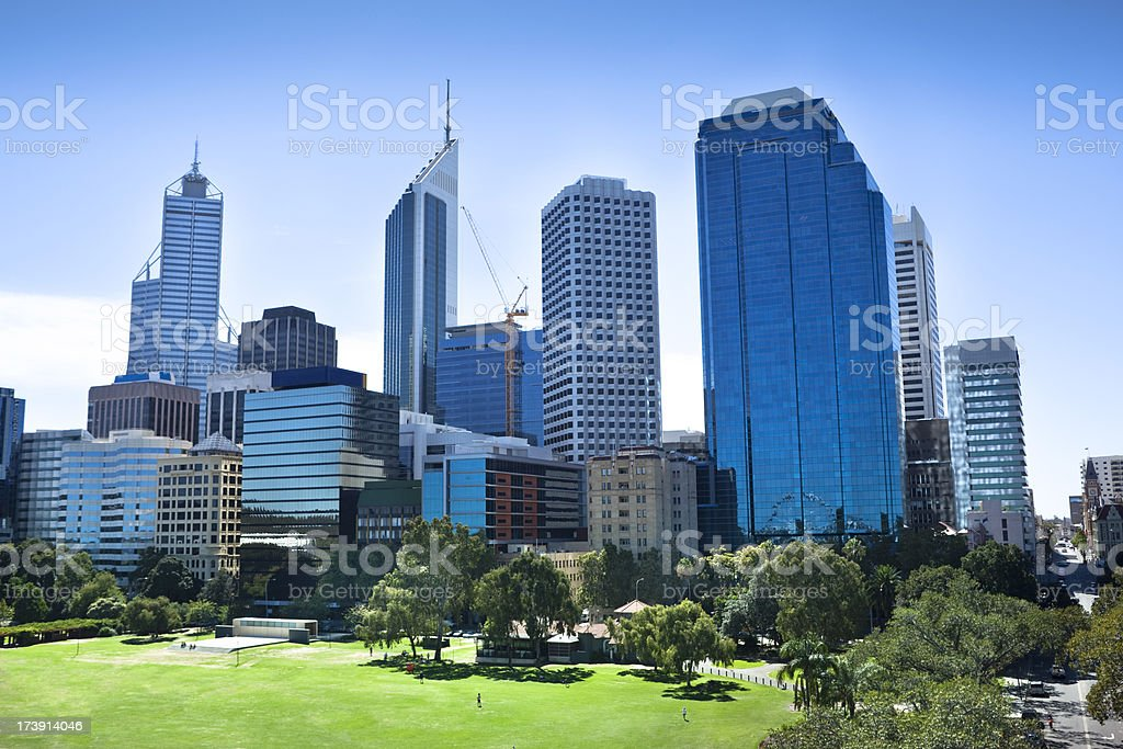 Perth City royalty-free stock photo