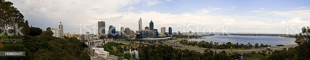 Perth Panoramic stock photo