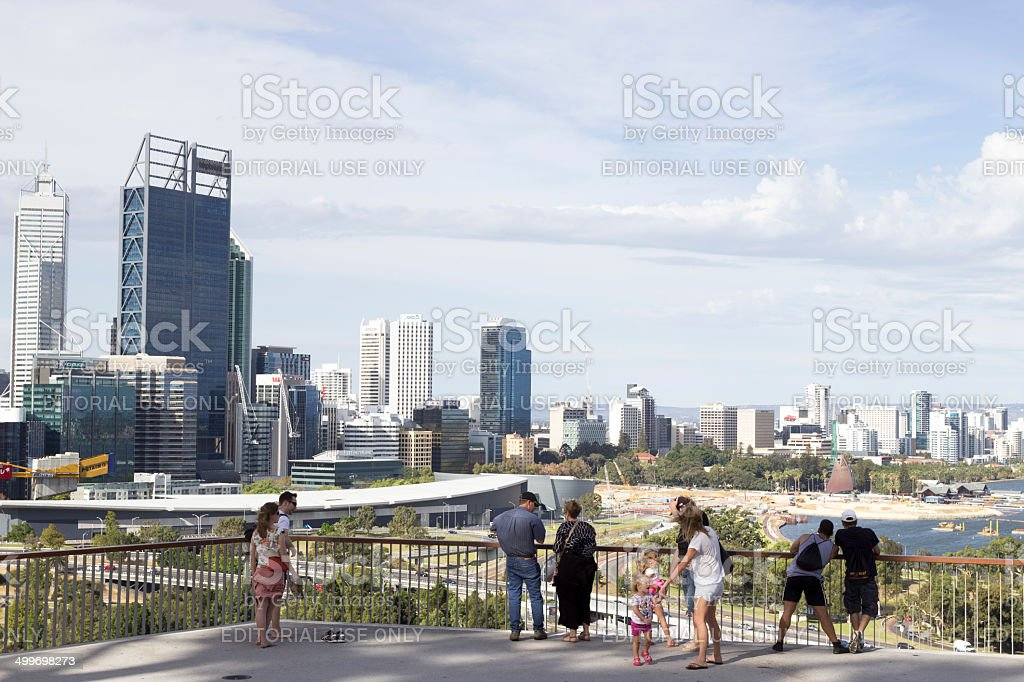 Perth Viewing stock photo