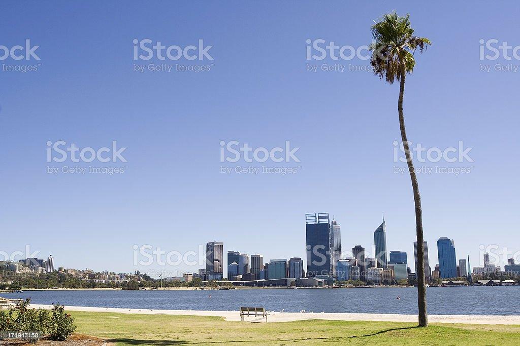 Perth Views royalty-free stock photo