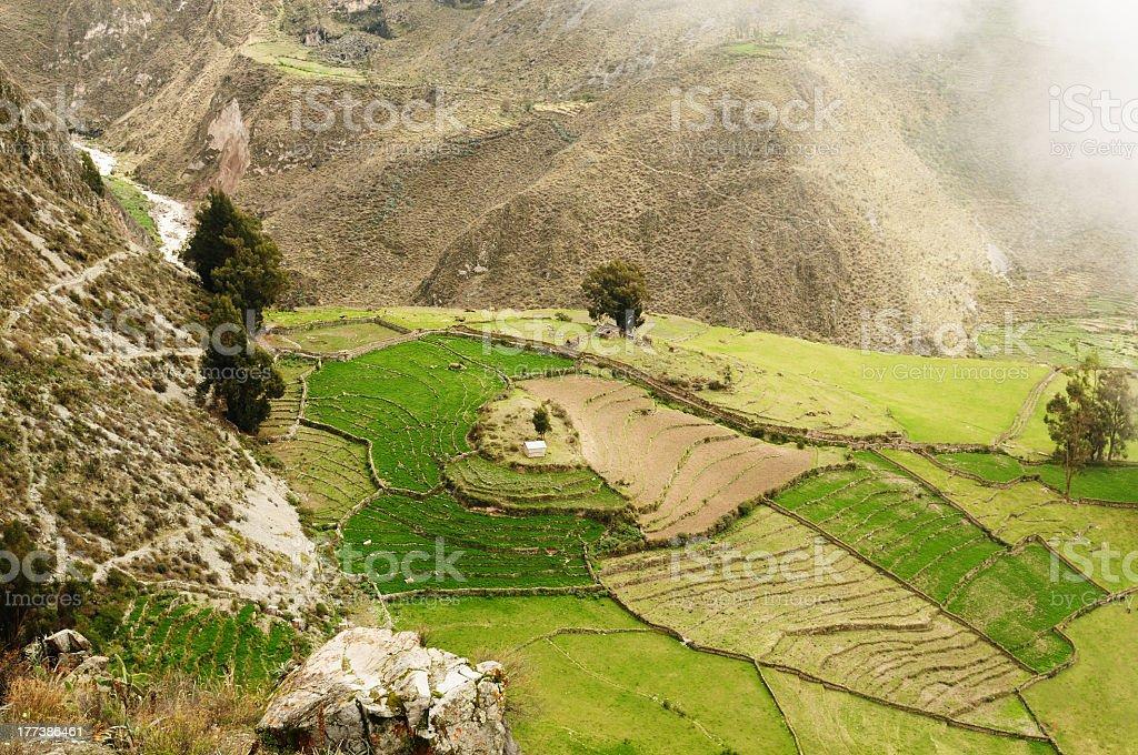 Peru, Canyon Cotahuasi stock photo
